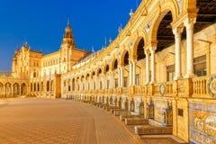 Sevilha Quadrado espanhol imagens de stock royalty free