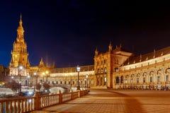 Sevilha Quadrado espanhol imagem de stock royalty free