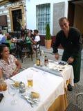 Sevilha Spain/mulher brasileira do 29 de julho de 2012 /A da cor olha o imagem de stock royalty free