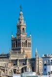Sevilha Torre Giralda imagem de stock royalty free