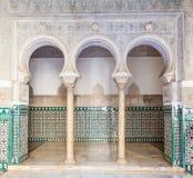 Sevilla Alcazar Royalty-vrije Stock Foto