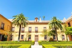 Sevilla Alcazar Spanje stock foto's