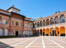 Sevilla-Alcazarhof, Spanien lizenzfreie stockfotos