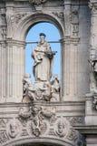 Sevilla, Andalucía, España - San Telmo Baroque Portal foto de archivo
