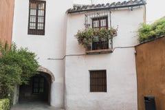 Sevilla Andalucia, Espanha: Bairro Santa Cruz Imagens de Stock Royalty Free