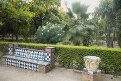 Sevilla Andalucia, Hiszpania: park Zdjęcia Royalty Free
