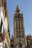 Sevilla Andalucia, Spain: Giralda, cathedral belfry Royalty Free Stock Photography