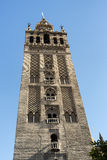 Sevilla Andalucia, Spain: Giralda, cathedral belfry Stock Image