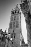 Sevilla Andalucia, Spain: Giralda, cathedral belfry Royalty Free Stock Photo