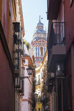 Sevilla Andalucia, Spain: historic buildings Stock Images