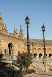 Sevilla Andalucia, Spain: Plaza de Espana Royalty Free Stock Image