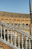 Sevilla Andalucia, Spain: Plaza de Espana Stock Photography