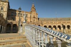Sevilla Andalucia, Spain: Plaza de Espana Royalty Free Stock Photo