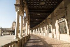 Sevilla Andalucia, Spain: Plaza de Espana Royalty Free Stock Images