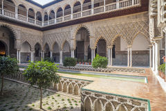 Sevilla Andalucia, Spanien arkivfoto
