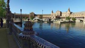Sevilla, Andalusien, Spanien - 14. April 2016: Spanien-Quadrat