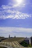 Sevilla-Ansicht vom Metropol-Sonnenschirm Lizenzfreie Stockbilder