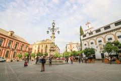 Sevilla architecture Stock Image