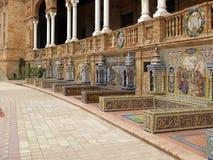 Sevilla - azulejos Stock Images