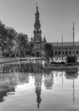 Sevilla - Bezinningen Stock Afbeeldingen