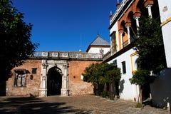 Sevilla, Casa de Pilatos Entrance imagen de archivo libre de regalías