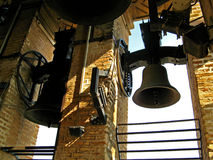Sevilla, Cathedral 01. Inside the bell tower of the gothic Cathedral of Sevilla in Sevilla, Spain stock photography