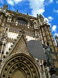 Sevilla, Cathedral 03. The massive gothic Cathedral of Sevilla in Sevilla, Spain Royalty Free Stock Photo