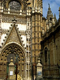 Sevilla, Cathedral 05. The massive gothic Cathedral of Sevilla in Sevilla, Spain Royalty Free Stock Photos