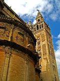 Sevilla, Cathedral 07. The massive gothic Cathedral of Sevilla in Sevilla, Spain Stock Photos