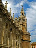 Sevilla, Cathedral 08. The massive gothic Cathedral of Sevilla in Sevilla, Spain stock photography