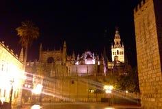 Sevilla Cathedral Arkivfoto