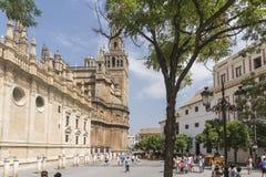 Sevilla Cathedral Immagini Stock Libere da Diritti