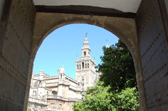 Sevilla cathedral Stock Photography