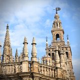 Sevilla Cathedral Royalty Free Stock Images