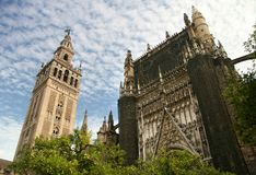 Free Sevilla Cathedral And The Tower Giralda Spain Stock Photos - 11402793