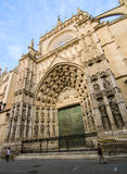 Sevilla cathedral architecture Royalty Free Stock Photo