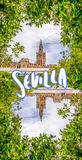 Sevilla Cathedral Royalty Free Stock Photo