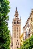 Sevilla Cathedral Spanien Royaltyfri Fotografi