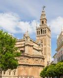 Sevilla cathedral Stock Photos