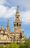 Sevilla cathedral tower Stock Photography