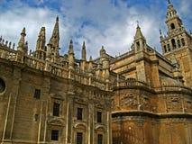 Sevilla, cattedrale 14 Fotografia Stock Libera da Diritti