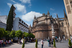 Sevilla Center stock afbeeldingen