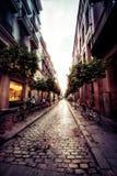 Sevilla Cobblestone Alley stock image