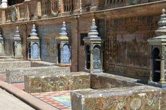 Sevilla - d'Espana de la plaza fotos de archivo