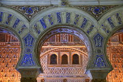 Sevilla - der Alcazar Stockfotos