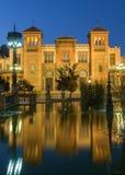 Sevilla - el museo de los artes y de las tradiciones populares (museo de Artes y Costumbres Populares) imágenes de archivo libres de regalías