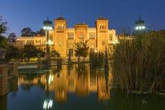 Sevilla - el museo de los artes y de las tradiciones populares (museo de Artes y Costumbres Populares) fotografía de archivo