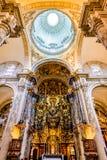 Sevilla, España - EL Salvado de la iglesia Fotografía de archivo