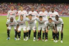 Sevilla FC Team Royalty Free Stock Photos