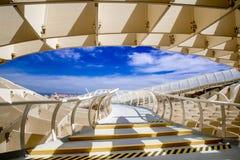 SEVILLA HISZPANIA, CZERWIEC, - 05: Metropol Parasol w Placu De Los angeles Encarna Fotografia Royalty Free